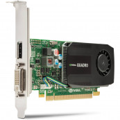 Placa video Nvidia Quadro K600, 1GB GDDR3, 128 bit, DVI, Display Port, Second Hand Componente Calculator