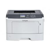 Imprimanta laser monocrom Lexmark M1145, USB, 45ppm Imprimante Second Hand