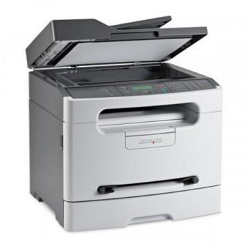 Multifunctionala Laser Monocrom LEXMARK X204N, 24 ppm, Retea, USB, 1200 x 1200, A4, Second Hand Imprimante Second Hand