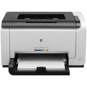 Imprimanta Laser Color HP CP1025NW, A4, 16 ppm, Retea, USB, 600 x 600 dpi, Second Hand Imprimante Second Hand