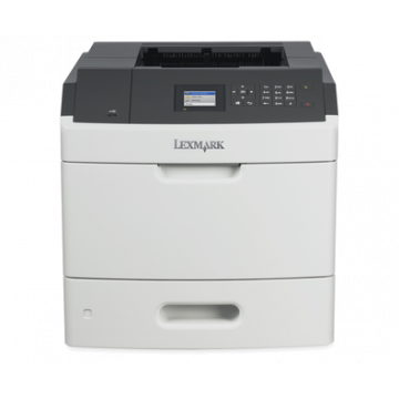Imprimanta laser monocrom Lexmark MS811DN, USB, 60ppm, 1200 x 1200 dpi, 500 coli Imprimante Second Hand