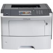 Imprimanta Laser Monocrom Lexmark MS610de, Duplex, A4, 47ppm, 1200 x 1200, USB, Retea, Second Hand Imprimante Second Hand