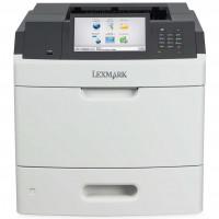 Imprimanta Laser Monocrom Lexmark MS812de, Duplex, A4, 66ppm, 1200 x 1200, USB, Retea