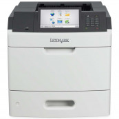 Imprimanta Laser Monocrom Lexmark MS812dn, Duplex, A4, 66ppm, 1200 x 1200, USB, Retea, Second Hand Imprimante Second Hand