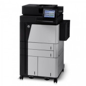 Multifunctionala HP LaserJet Enterprise Flow M830, 56 PPM,1200 x 1200 DPI, USB, A3, A4, Duplex, Cartus Nou Imprimante Second Hand