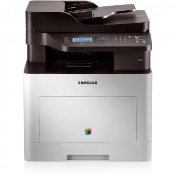 Multifunctionala Laser Color SAMSUNG CLX-6260DN, Duplex, A4, 25ppm, 9600 x 600, Retea, USB, Toner Cyan NOU, Toner Galben Low, Second Hand Imprimante Second Hand