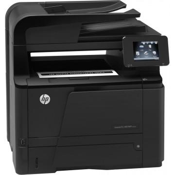 Multifunctionala Laser Monocrom HP LaserJet M425DW, Duplex, A4, 33ppm 1200 x 1200dpi, Fax, Scanner, Copiator, Wireless, Retea, USB, Second Hand Imprimante Second Hand