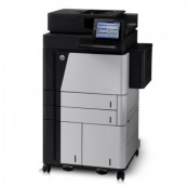 Multifunctionala Second Hand HP LaserJet Enterprise Flow M830, 56 PPM,1200 x 1200 DPI, USB, A3, A4, Duplex Imprimante Second Hand
