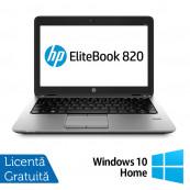 Laptop HP Elitebook 820 G2, Intel Core i5-5200U 2.20GHz, 8GB DDR3, 128GB SSD + Windows 10 Home Laptopuri Refurbished