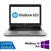 Laptop HP Elitebook 820 G2, Intel Core i5-5200U 2.20GHz, 8GB DDR3, 128GB SSD + Windows 10 Pro Laptopuri Refurbished