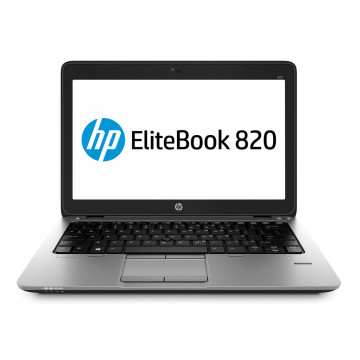 Laptop HP Elitebook 820 G2, Intel Core i5-5300U 2.30GHz, 4GB DDR3, 120GB SSD, 12.5 Inch, Webcam, Second Hand Laptopuri Second Hand