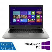 Laptop HP Elitebook 840 G2, Intel Core i5-5200U 2.20GHz, 8GB DDR3, 128GB SSD, HD + Windows 10 Pro Laptopuri Refurbished