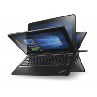 Laptop LENOVO Yoga 11e, Intel Core i3-6100U 2.30GHz, 8GB DDR3, 240GB SSD, Touchscreen, Webcam, 11.6 Inch + Windows 10 Pro