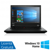 Laptop Refurbished LENOVO L440, Intel Core i5-4300M, 2.6GHz, 4GB DDR3, 500GB SATA, Display 14 Inch Wide + Windows 10 Home Laptopuri Refurbished