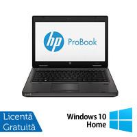 Laptop HP ProBook 6470B, Intel Core i5-3210M 2.50GHz, 4GB DDR3, 320GB SATA, DVD-RW, 14 Inch + Windows 10 Home