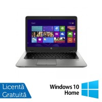 Laptop HP Elitebook 840 G2, Intel Core i5-5200U 2.20GHz, 8GB DDR3, 120GB SSD + Windows 10 Home
