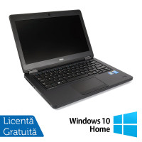 Laptop DELL Latitude E5450, Intel Core i3-5010U 2.10GHz, 4GB DDR3, 120GB SSD, 14 Inch + Windows 10 Home