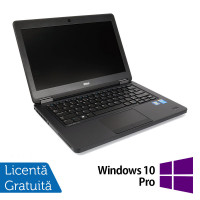 Laptop DELL Latitude E5450, Intel Core i3-5010U 2.10GHz, 4GB DDR3, 120GB SSD, 14 Inch + Windows 10 Pro