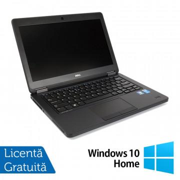 Laptop DELL Latitude E5450, Intel Core i5-5300U 2.30GHz, 4GB DDR3, 120GB SSD, 14 Inch + Windows 10 Home, Refurbished Laptopuri Refurbished