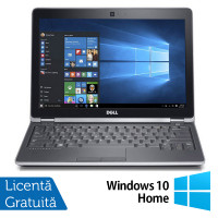 Laptop Dell Latitude E6230, Intel Core i5-3320M 2.60GHz, 4GB DDR3, 500GB SATA + Windows 10 Home