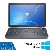 Laptop Dell Latitude E6430, Intel Core i5-3230M 2.60GHz, 8GB DDR3, 120GB SSD, DVD-RW, 14 Inch, Fara Webcam + Windows 10 Home, Refurbished Laptopuri Refurbished