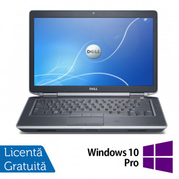Laptop Dell Latitude E6430, Intel Core i5-3230M 2.60GHz, 8GB DDR3, 120GB SSD, DVD-RW, 14 Inch, Fara Webcam + Windows 10 Pro, Refurbished Laptopuri Refurbished