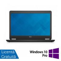 Laptop Refurbished DELL Latitude E7440, Intel Core i5-4300U 1.90GHz, 8GB DDR3, 120GB SSD,14 inch, Webcam + Windows 10 Pro