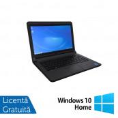 Laptop DELL Latitude 3340, Intel Celeron 2957U 1.40GHz, 4GB DDR3, 320GB SATA, 13.3 Inch + Windows 10 Home, Refurbished Laptopuri Refurbished