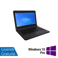 Laptop DELL Latitude 3340, Intel Core i3-4005U 1.70GHz, 4GB DDR3, 320GB SATA, 13.3 Inch + Windows 10 Pro