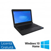 Laptop DELL Latitude 3340, Intel Core i5-4200U 1.60GHz, 4GB DDR3, 120GB SSD, 13.3 Inch, Webcam + Windows 10 Home, Refurbished Laptopuri Refurbished