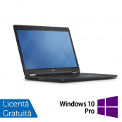 Laptop DELL Latitude E5250, Intel Core i5-5300U 2.30GHz, 8GB DDR3, 120GB SSD, 12.5 Inch, Webcam + Windows 10 Pro, Refurbished Laptopuri Refurbished