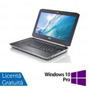 Laptop DELL Latitude E5420, Intel Core i3-2350M 2.30GHz, 4GB DDR3, 250GB SATA, DVD-RW, 14 Inch + Windows 10 Pro, Refurbished Laptopuri Refurbished