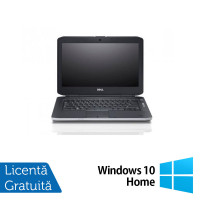 Laptop DELL Latitude E5430, Intel Core i5-3320M 2.60GHz, 4GB DDR3, 320GB SATA, DVD-ROM, 14 Inch, Fara Webcam + Windows 10 Home