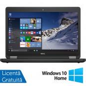 Laptop DELL Latitude E5470, Intel Core i3-6100U 2.30GHz, 4GB DDR4, 120GB SSD, 14 Inch + Windows 10 Home, Refurbished Laptopuri Refurbished