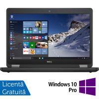 Laptop DELL Latitude E5470, Intel Core i5-6200U 2.30GHz, 8GB DDR4, 240GB SSD, 14 Inch, Webcam + Windows 10 Pro