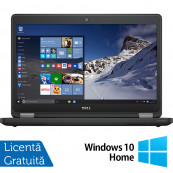 Laptop DELL Latitude E5470, Intel Core i5-6300U 2.40GHz, 8GB DDR4, 120GB SSD, 14 Inch + Windows 10 Home, Refurbished Laptopuri Refurbished