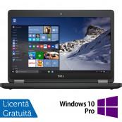 Laptop DELL Latitude E5470, Intel Core i5-6300U 2.40GHz, 8GB DDR4, 120GB SSD, 14 Inch + Windows 10 Pro, Refurbished Laptopuri Refurbished