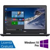 Laptop DELL Latitude E5570, Intel Core i7-6820HQ 2.70GHz, 16GB DDR4, 256GB SSD SATA M.2, Radeon M370 2GB GDDR5, 15.6 Inch Full HD, Tastatura numerica + Windows 10 Pro, Refurbished Laptopuri Refurbished