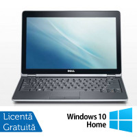 Laptop Dell Latitude E6220, Intel Core i3-2330M 2.20GHz, 4GB DDR3, 120GB SSD, 12.5 Inch, Webcam + Windows 10 Home
