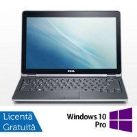 Laptop Dell Latitude E6220, Intel Core i3-2330M 2.20GHz, 4GB DDR3, 120GB SSD + Windows 10 Pro