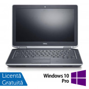 Laptop DELL Latitude E6330, Intel i5-3340M 2.70GHz, 4GB DDR3, 500GB SATA, DVD-RW, 13.3 Inch, Webcam + Windows 10 Pro, Refurbished Laptopuri Refurbished