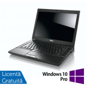 Dell Latitude E6400, Intel Core2 Duo P8600, 2.13GHz, 4GB DDR2, 160GB SATA, DVD-RW + Windows 10 Pro, Refurbished Laptopuri Refurbished