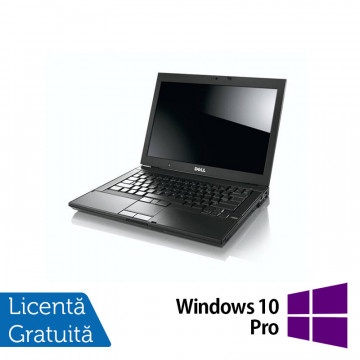 Laptop Refurbished DELL E6410, Intel Core i5-560M, 2.66 GHz, 4GB DDR3, 160GB SATA, DVD-RW, 14 Inch + Windows 10 Pro Laptopuri Refurbished