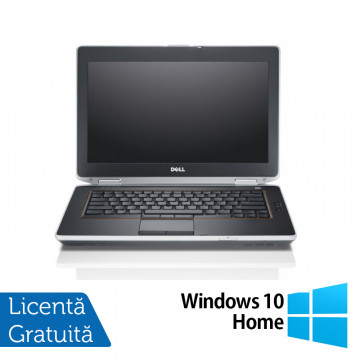Laptop DELL Latitude E6420, Intel Core i7-2640M 2.50GHz, 4GB DDR3, 320GB SATA, DVD-RW, 14 Inch + Windows 10 Home, Refurbished Laptopuri Refurbished