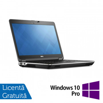 Laptop DELL Latitude E6440, Intel Core i5-4300M 2.60GHz, 8GB DDR3, 320GB SATA, DVD-RW, 14 inch + Windows 10 Pro, Refurbished Laptopuri Refurbished