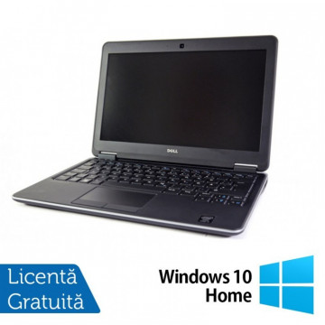 Laptop DELL Latitude E7240, Intel Core i5-4300U 1.90GHz, 8GB DDR3, 240GB SSD, 12.5 Inch + Windows 10 Home, Refurbished Laptopuri Refurbished