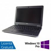 Laptop DELL Latitude E7240, Intel Core i5-4310U 2.00GHz, 16GB DDR3, 120GB SSD, Webcam, Touchscreen, 12.5 inch + Windows 10 Pro, Refurbished Laptopuri Refurbished
