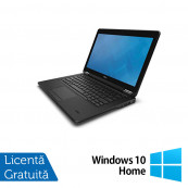 Laptop Dell Latitude E7250, Intel Core i5-5300U 2.30GHz, 8GB DDR3, 120GB SSD, 12 Inch + Windows 10 Home, Refurbished Laptopuri Refurbished