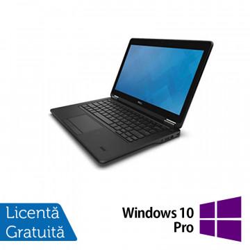 Laptop Dell Latitude E7250, Intel Core i5-5300U 2.30GHz, 8GB DDR3, 240GB SSD, 12 Inch Full HD Touchscreen + Windows 10 Pro, Refurbished Laptopuri Refurbished