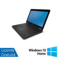 Laptop Dell Latitude E7250, Intel Core i7-5600U 2.60GHz, 8GB DDR3, 480GB SSD, 12 Inch, Touchscreen + Windows 10 Home
